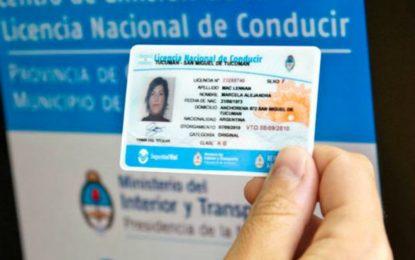 Interrumpirán emisión de licencias de conducir