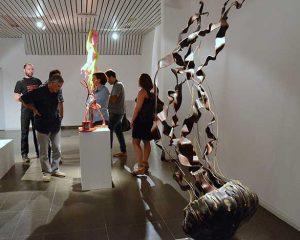Tres artistas locales fueron premiados en Escultura