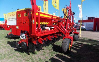 Aumentó un 100% la comercialización de maquinaria agrícola
