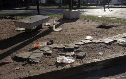 Quejas por residuos en una esquina