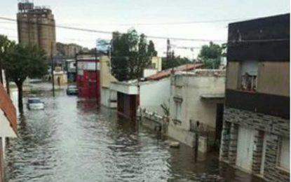 Fuertes vientos, abundante lluvia y granizo azotaron a Las Higueras