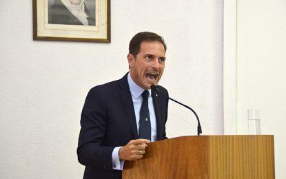 El discurso del intendente cosechó críticas y elogios