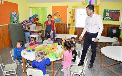 Guarderías: con 13 nuevas salas, llegan a 50 y recibirán 1.200 niños