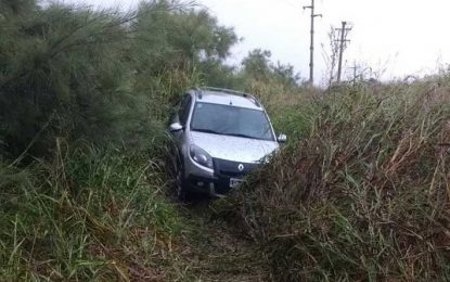 Hermanos de La Playosa heridos en un accidente en la ruta 158