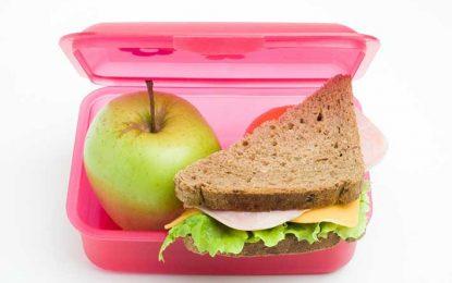 Viandas escolares: comer sano y rico, pero lo justo