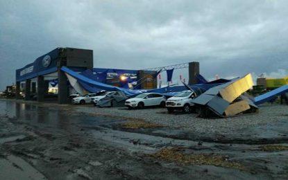 Fuerte temporal obligó a postergar la tercera jornada de Expoagro