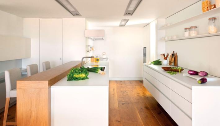 Pintar la cocina de blanco: una gran idea para renovar | El Diario ...