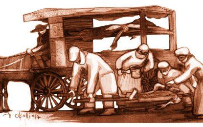 1910: epidemia de viruela en Villa María