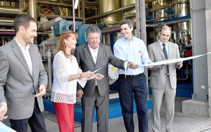 Utilizando energías renovables, Chiantore inauguró una planta