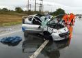 Cuatro motociclistas heridos en tres colisiones