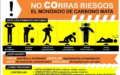 Monóxido de carbono: bajaron las  temperaturas y conviene prevenir