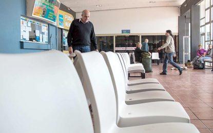 Nuevo mobiliario en la terminal