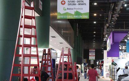 Cuarenta títulos de Eduvim se exhiben en la Feria Internacional del Libro de Buenos Aires