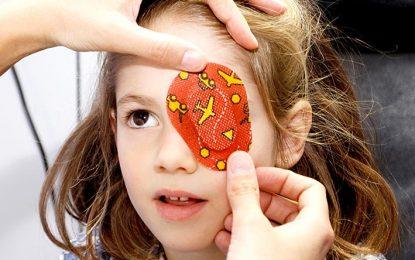Exámenes gratuitos de ojo vago para los niños