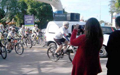 Una bicicleteada para crear conciencia sobre el Parkinson
