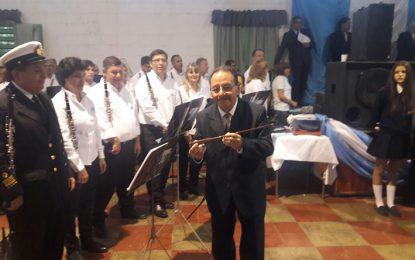 El Museo revivió la Banda de Música como símbolo de paz