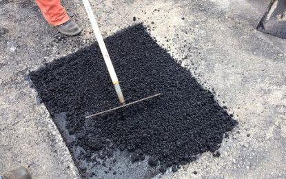 En qué sectores de la ciudad se realizan obras de bacheo y arreglo de calles