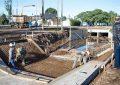 Cuidado con las obras en el canal central