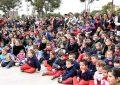 Tres mil chicos festejaron el Día de los Jardines
