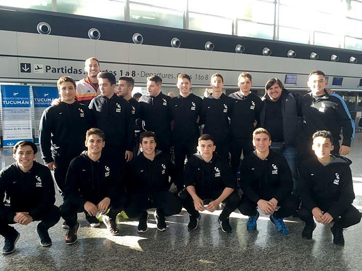 Los cadetes de cief rumbo a nacionales el diario del for Jardin 52 bariloche