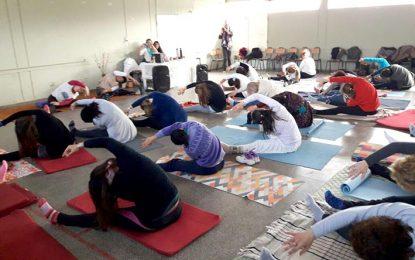 El Yoga se celebra en Villa María