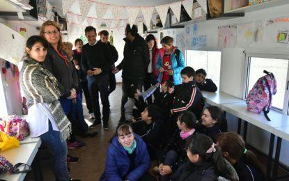 La Escuela José Ingenieros en el vagón cultural