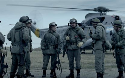 """Presentan el filme """"Soldado argentino"""" con el productor y excombatientes de Malvinas"""