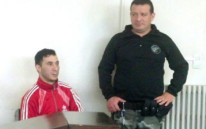Almada dio marcha atrás, confesó el robo y lo condenaron a seis años