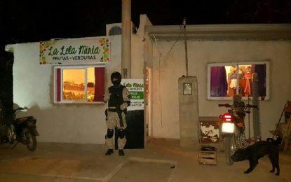 """Allí se vendía a """"clientes"""" del lugar, Chazón y Ucacha"""