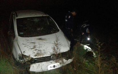 Persecución y arresto del ladrón de un auto