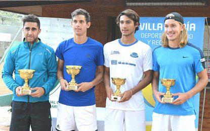 Argüello-Lipovsek Puches campeones en dobles y hoy se juega la final de singles