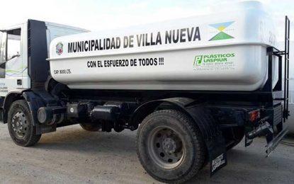 El municipio adquirió dos nuevos camiones