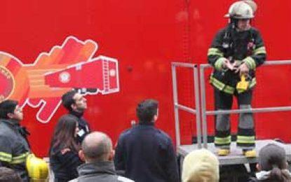 Para capacitar más a bomberos