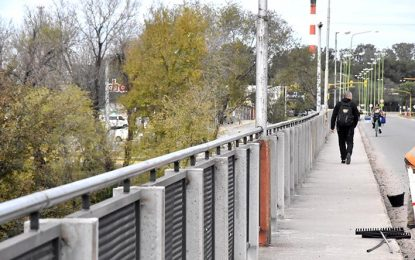 Se habilita el puente Alberdi y así se le ponen paños fríos al tránsito