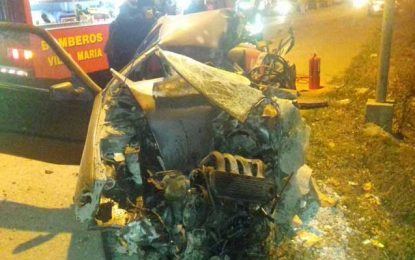 Identificaron al automovilista de Villa Nueva que falleció el domingo a la noche en ruta 2