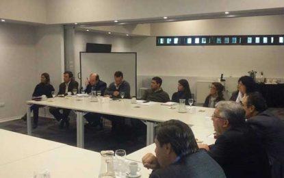 Directivos de EPEC recibieron a los comerciantes y analizan soluciones