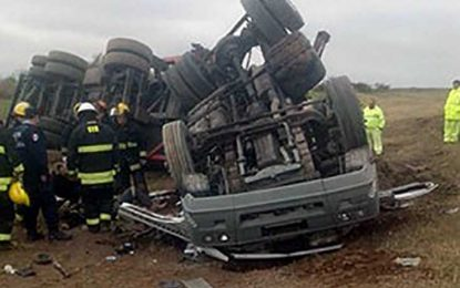 Accidente fatal sobre la autopista