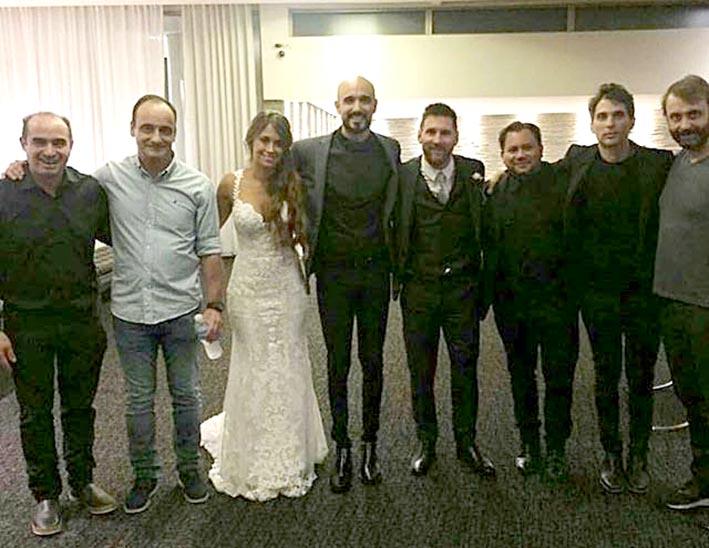 Shakira repitió look para el casamiento de Leo Messi y Anto Roccuzzo