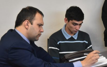 Tres años de prisión para un joven albañil
