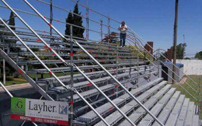La Leonera tendrá más lugar con unas tribunas tubulares