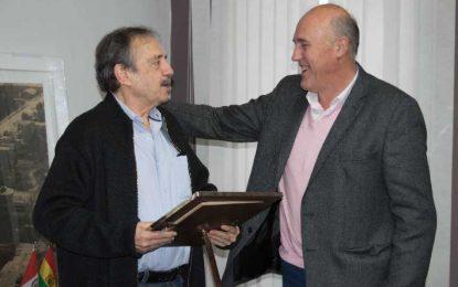 Chiocarello se reunió con Ricardo Alfonsín