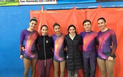 Cinco patinadores del Prado irán al Nacional en Las Parejas