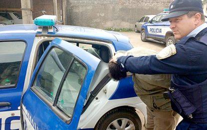 Dos detenidos por robo, encubrimiento y resistencia