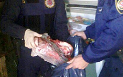 Secuestraron carne de un vacuno sustraído