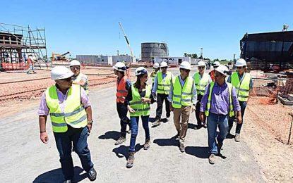 La central que se construye en la ciudad fue rechazada en Tandil