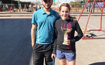 Una campeona en Marcos Juárez