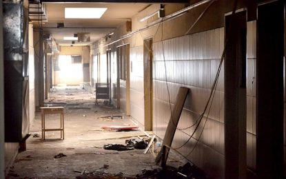 Los cazafantasmas… cazados en el viejo Hospital Pasteur