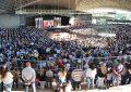 La Iglesia Católica convocó a unas seis mil personas en el Anfiteatro
