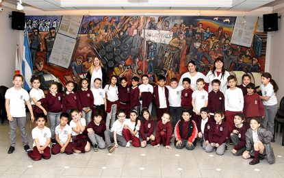 Rosarinas, presente en visita guiada a la sede de EL DIARIO