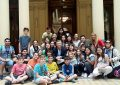 Alumnos de la Dante visitaron al presidente